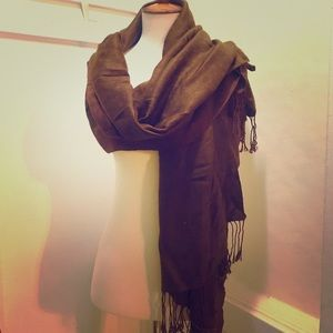 "🍂🍂 Women's Brown Scarf Size about 79""x27.5"" 🍂🍂"